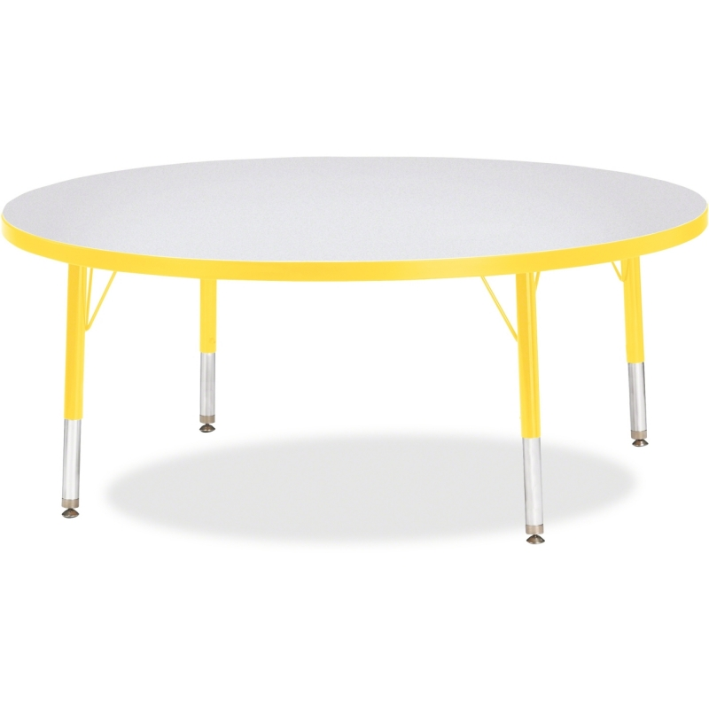 Berries Toddler Height Color Edge Round Table 6433JCT007 JNT6433JCT007