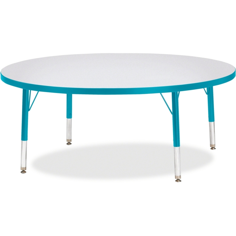 Berries Toddler Height Color Edge Round Table 6433JCT005 JNT6433JCT005