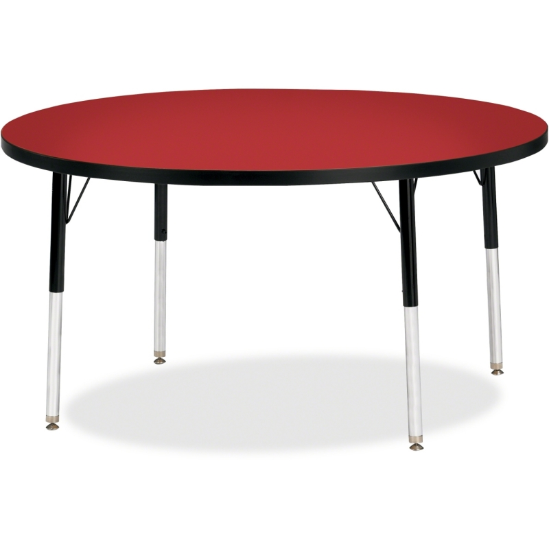 Berries Adult Height Color Top Round Table 6433JCA188 JNT6433JCA188