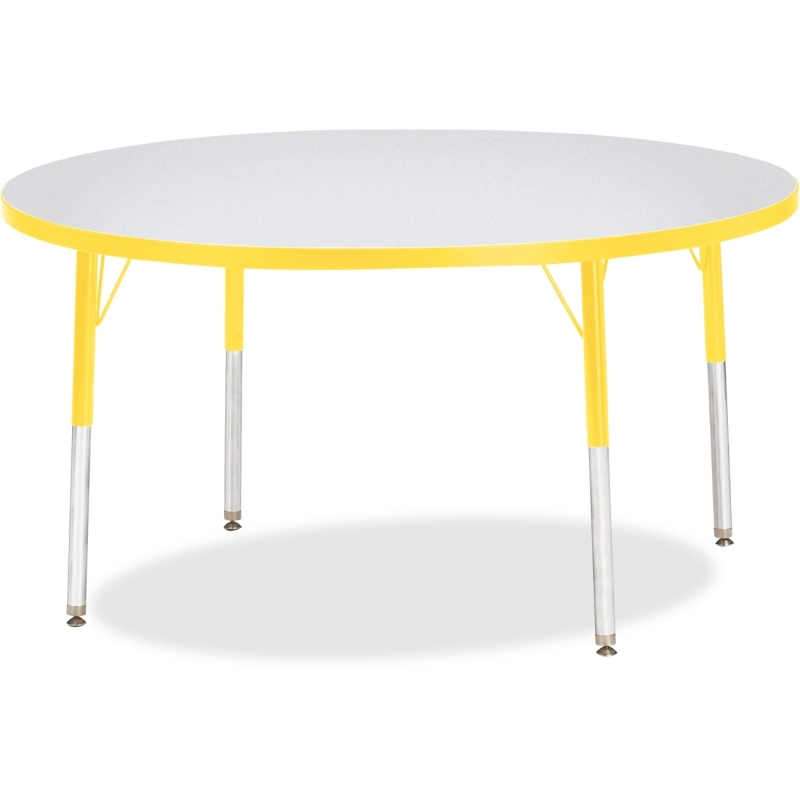 Berries Adult Height Color Edge Round Table 6433JCA007 JNT6433JCA007