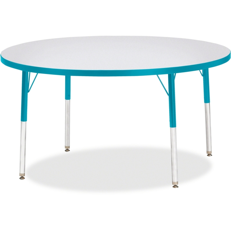 Berries Adult Height Color Edge Round Table 6433JCA005 JNT6433JCA005