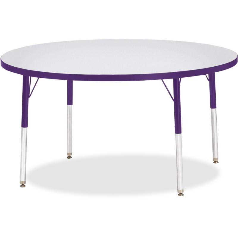 Berries Adult Height Color Edge Round Table 6433JCA004 JNT6433JCA004