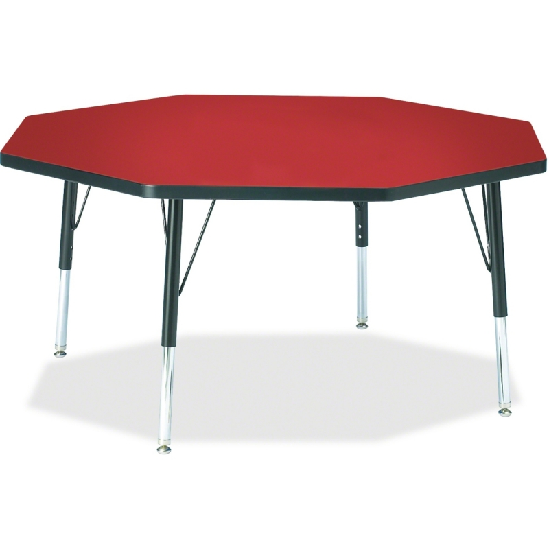 Berries Toddler Height Color Top Octagon Table 6428JCT188 JNT6428JCT188