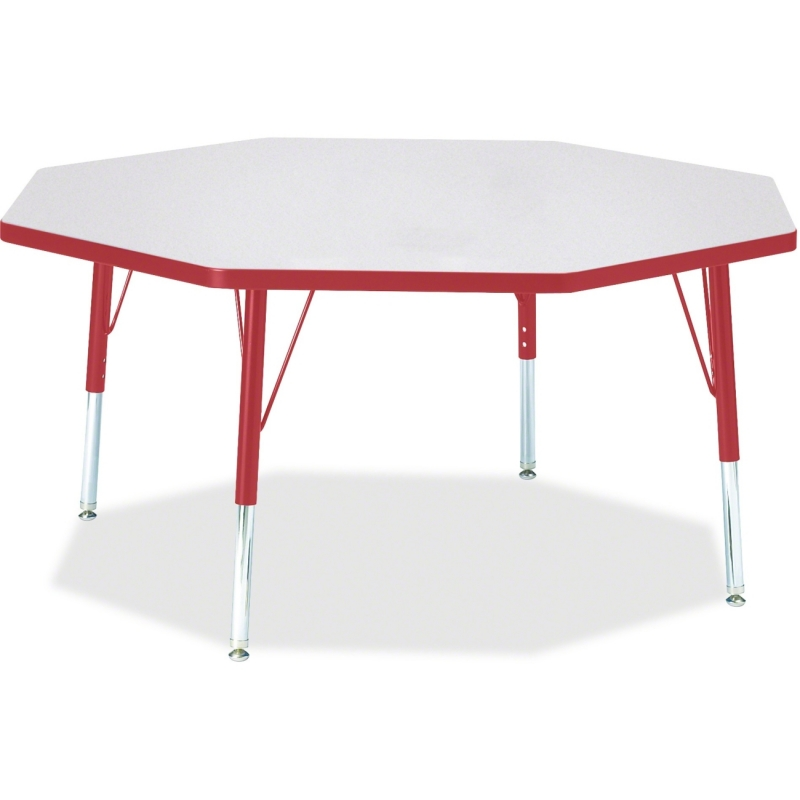 Berries Toddler Height Color Edge Octagon Table 6428JCT008 JNT6428JCT008