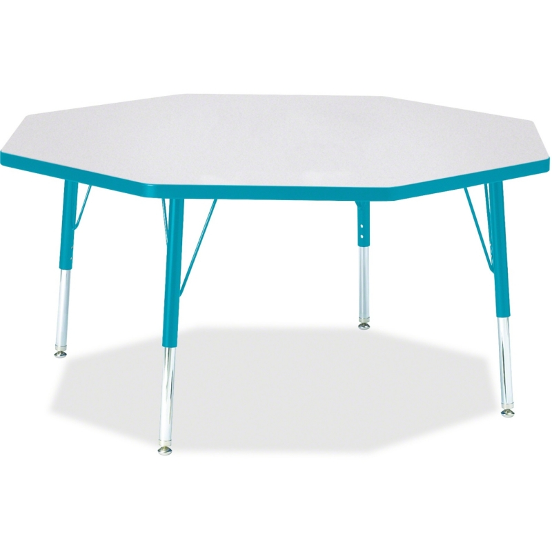 Berries Toddler Height Color Edge Octagon Table 6428JCT005 JNT6428JCT005