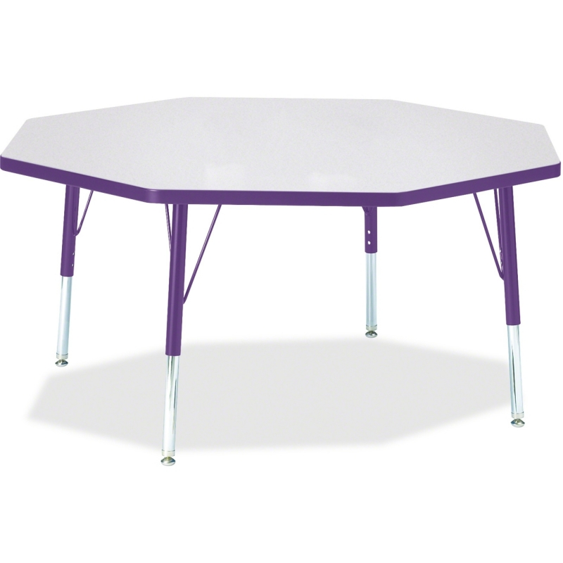 Berries Toddler Height Color Edge Octagon Table 6428JCT004 JNT6428JCT004