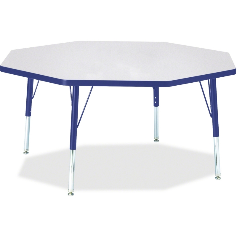 Berries Toddler Height Color Edge Octagon Table 6428JCT003 JNT6428JCT003