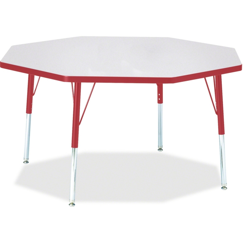 Berries Elementary Height Color Edge Octagon Table 6428JCE008 JNT6428JCE008