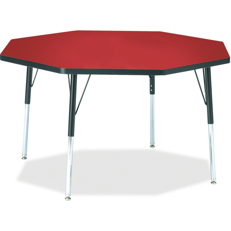 Berries Adult Height Color Top Octagon Table 6428JCA188 JNT6428JCA188