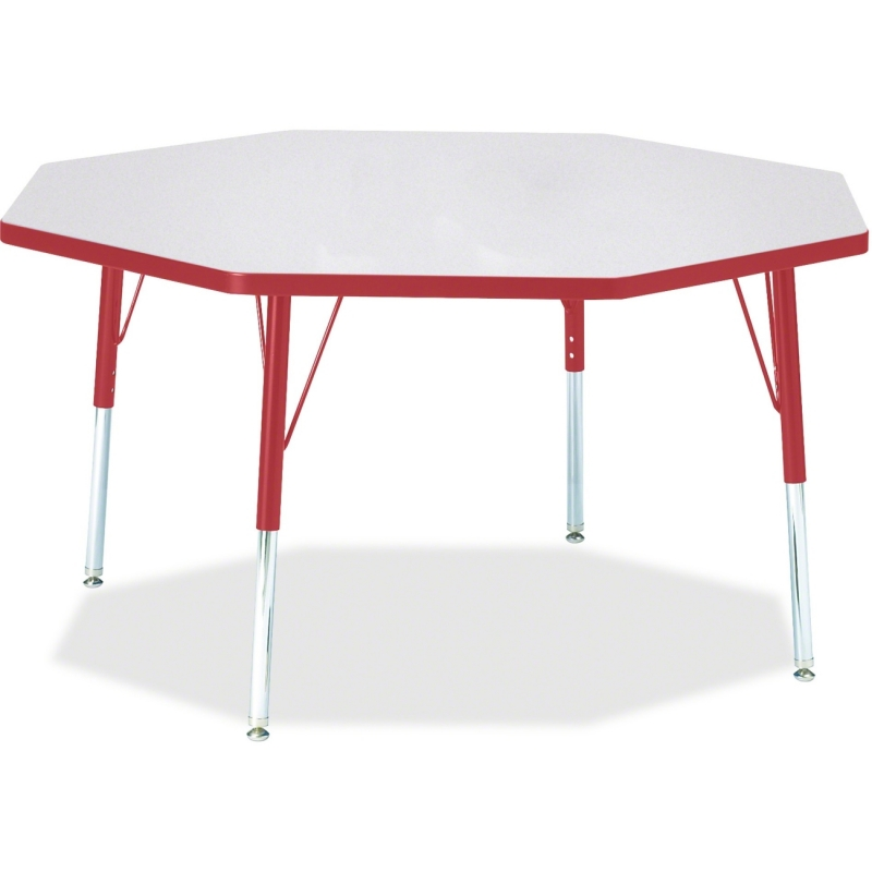 Berries Adult Height Color Edge Octagon Table 6428JCA008 JNT6428JCA008
