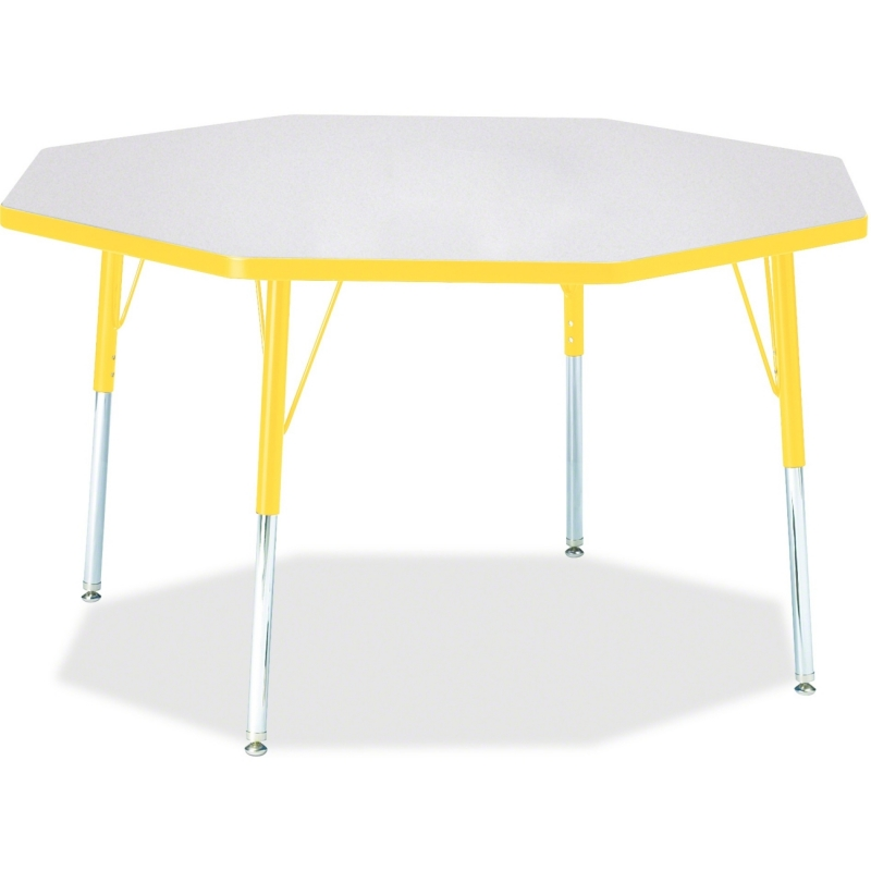 Berries Adult Height Color Edge Octagon Table 6428JCA007 JNT6428JCA007