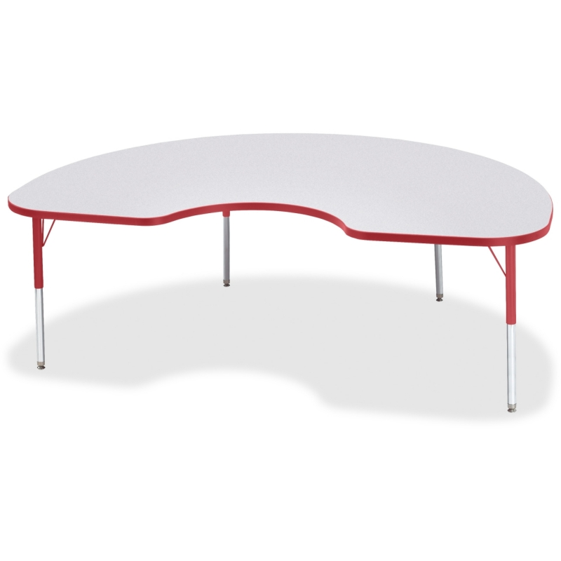Berries Elementary Height Color Edge Kidney Table 6423JCE008 JNT6423JCE008