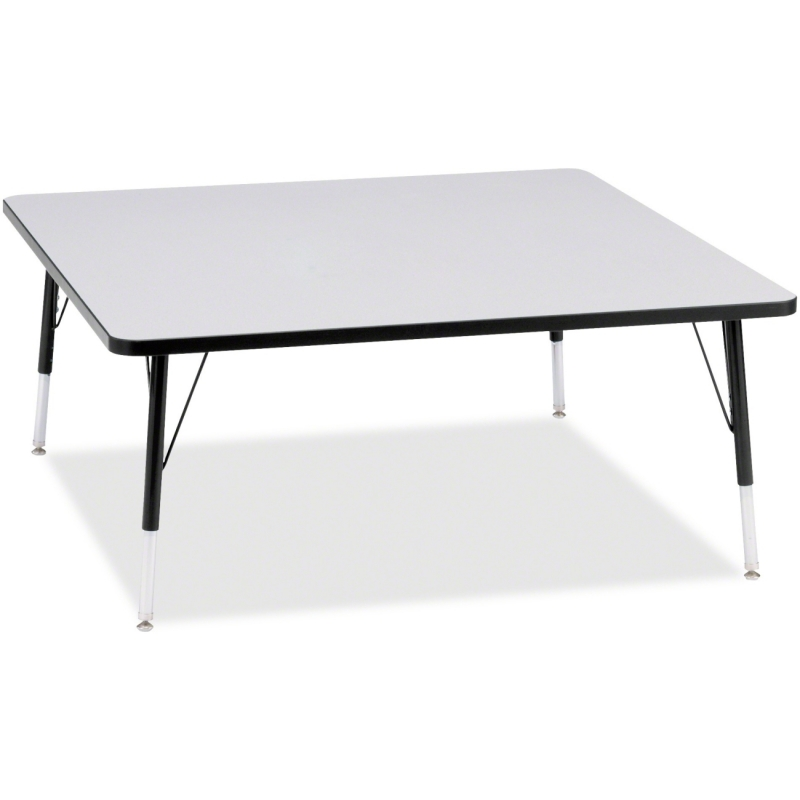 Berries Elementary Height Color Edge Square Table 6418JCE180 JNT6418JCE180