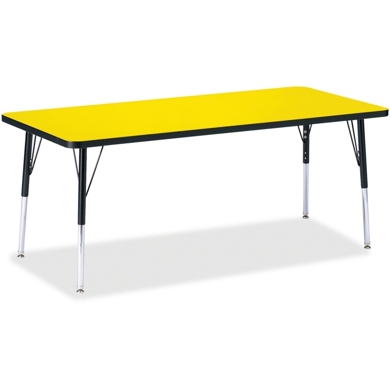 Berries Elementary Height Color Top Rectangle Table 6413JCE187 JNT6413JCE187