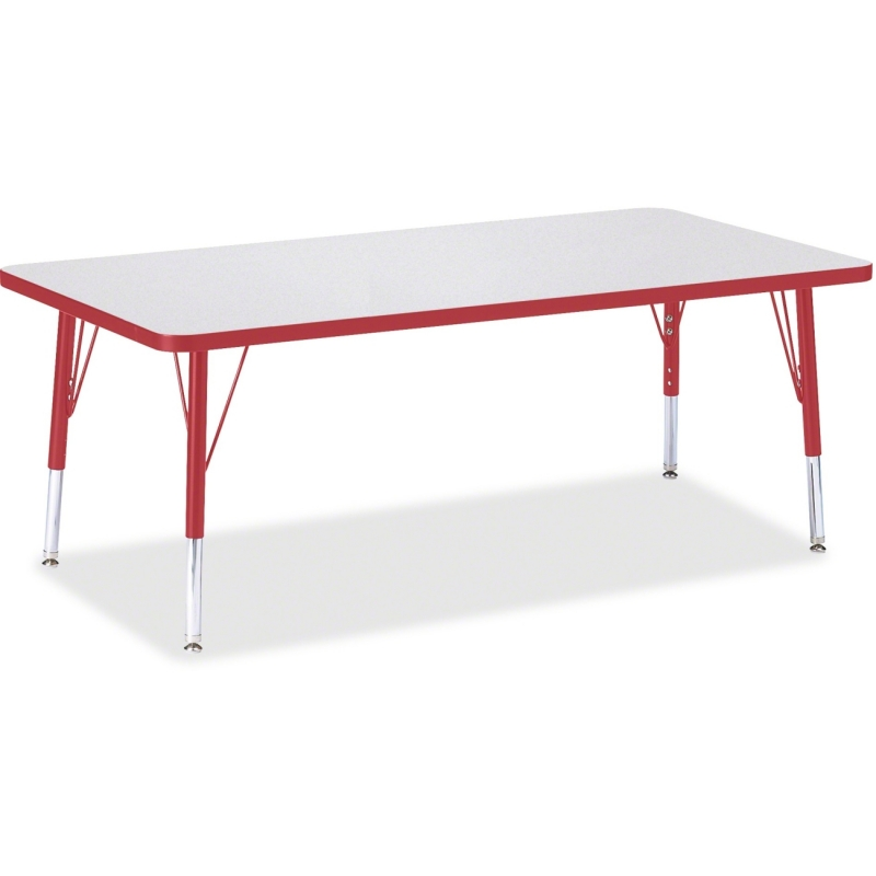 Berries Toddler Height Prism Edge Rectangle Table 6408JCT008 JNT6408JCT008
