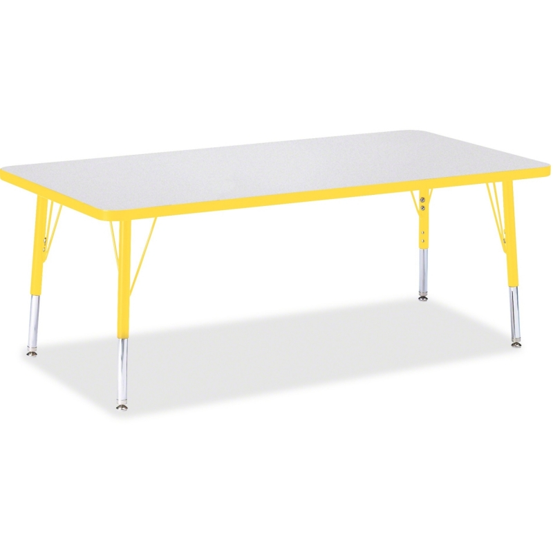 Berries Toddler Height Prism Edge Rectangle Table 6408JCT007 JNT6408JCT007