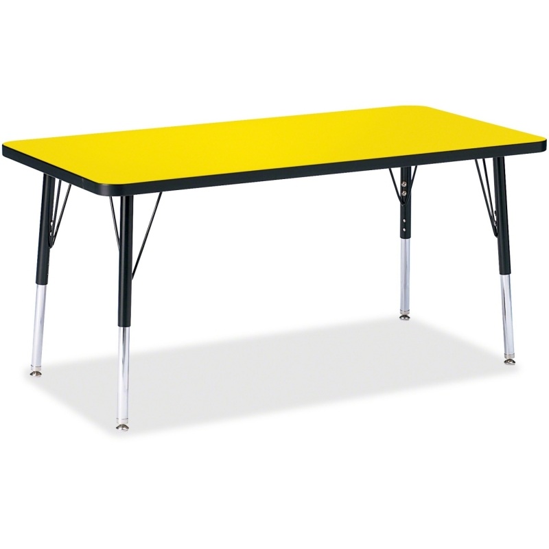 Berries Elementary Height Color Top Rectangle Table 6403JCE187 JNT6403JCE187