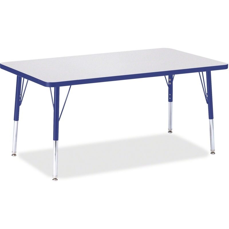 Berries Elem. Ht. Gray Top Rectangular Table 6473JCE003 JNT6473JCE003