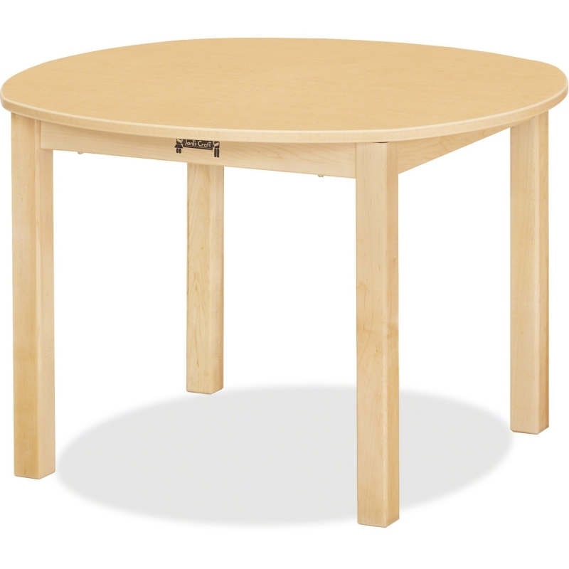Jonti-Craft Multi-purpose Maple Round Table 56714JC JNT56714JC