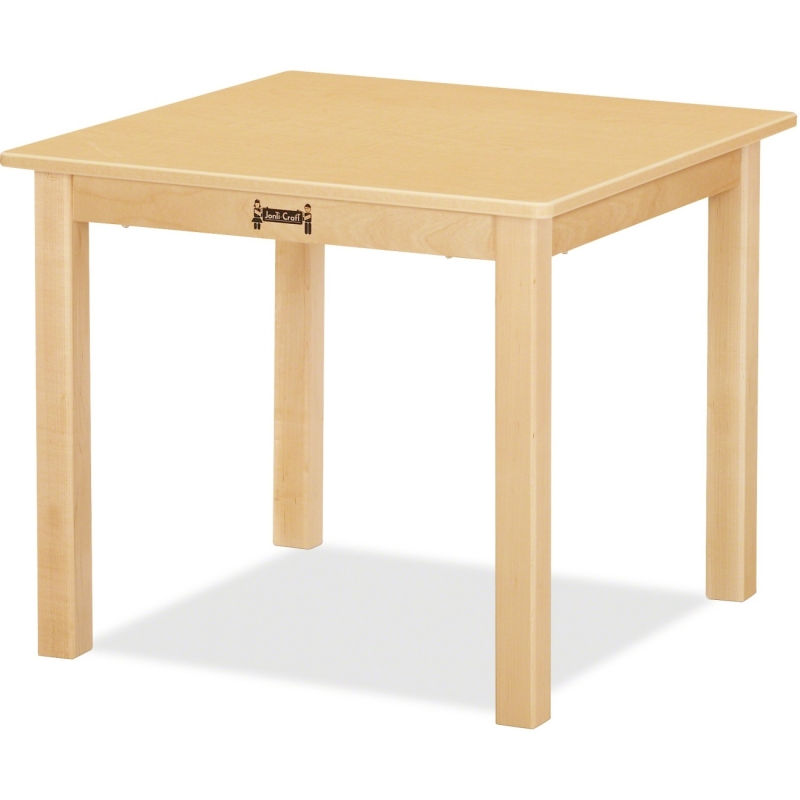 Jonti-Craft KYDZSafe Multi-purpose Maple Square Table 57218JC JNT57218JC