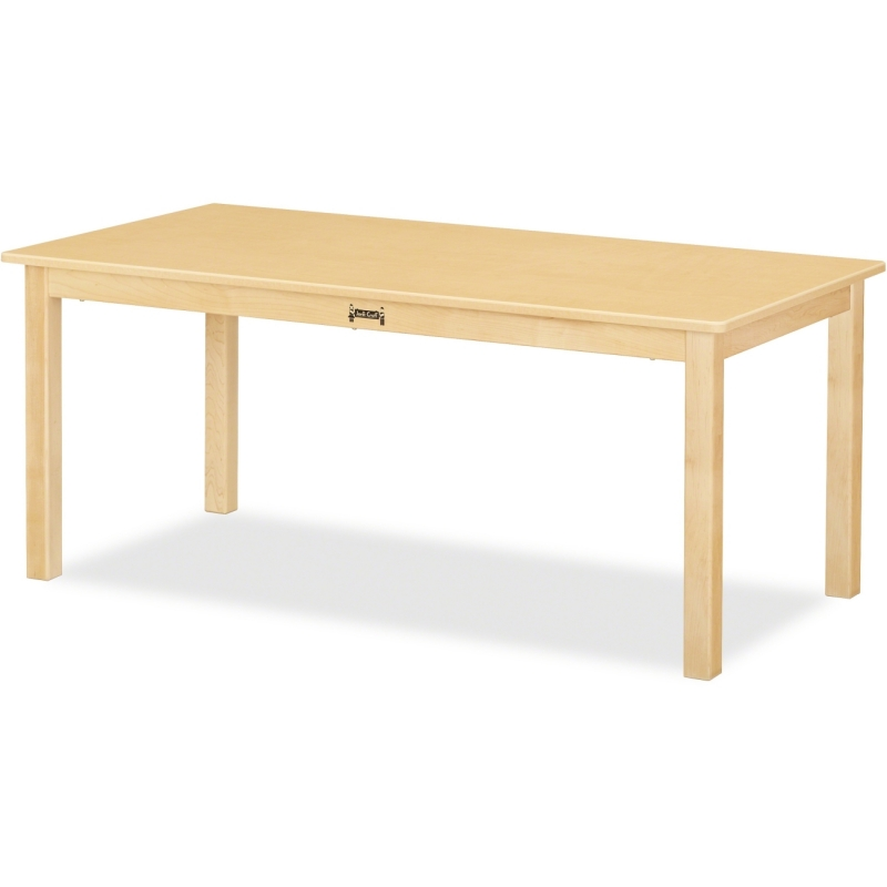Jonti-Craft Multi-purpose Maple Large Rectangle Table 56824JC JNT56824JC