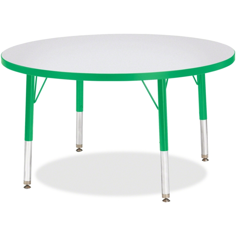 Berries Toddler Height Color Edge Round Table 6488JCT119 JNT6488JCT119