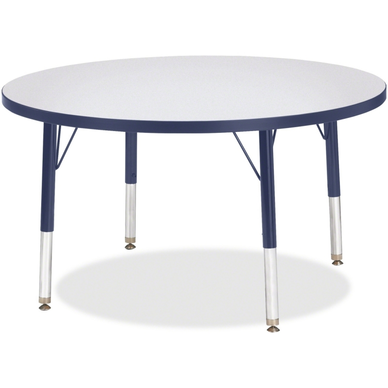 Berries Toddler Height Color Edge Round Table 6488JCT112 JNT6488JCT112