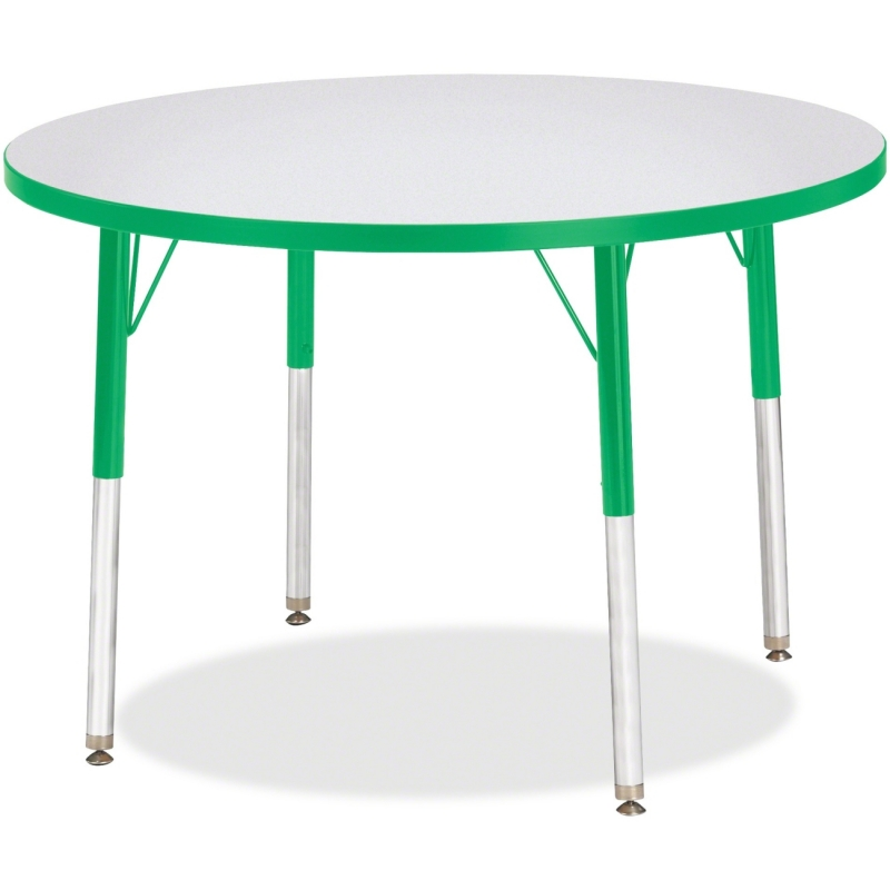 Berries Adult Height Color Edge Round Table 6488JCA119 JNT6488JCA119