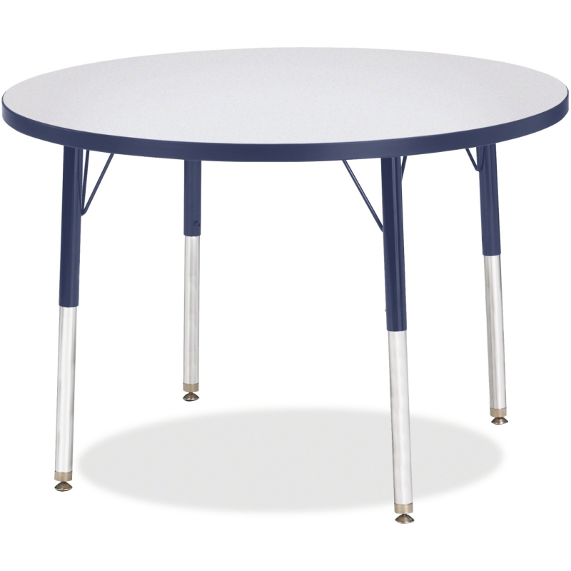 Berries Adult Height Color Edge Round Table 6488JCA112 JNT6488JCA112