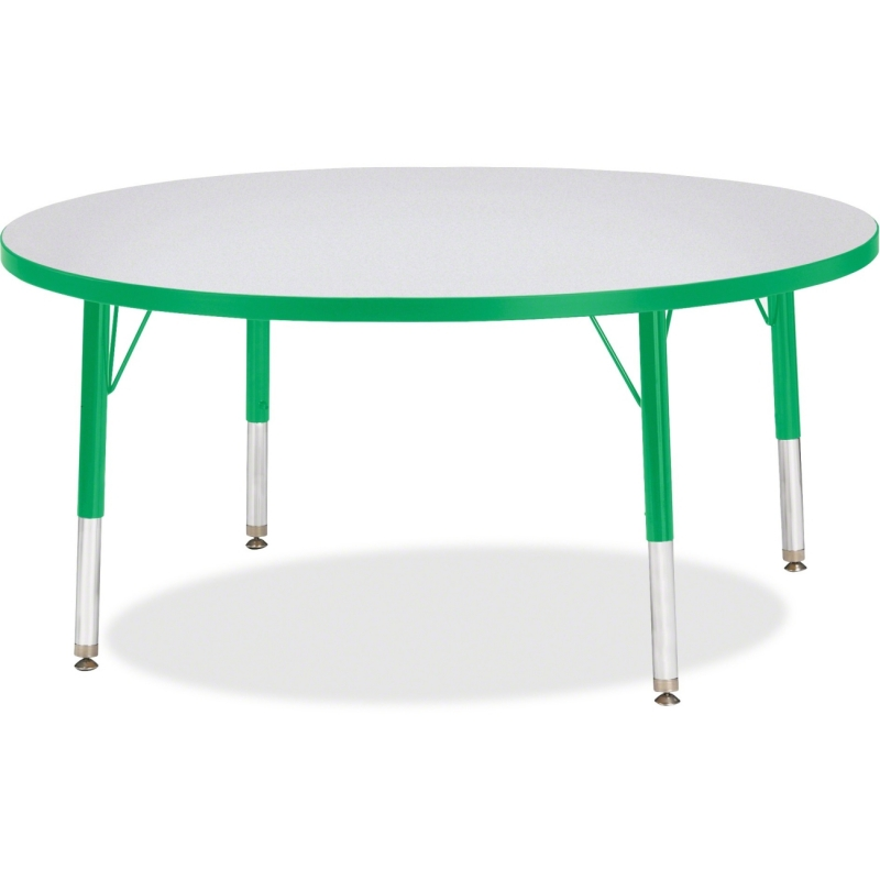 Berries Toddler Height Color Edge Round Table 6468JCT119 JNT6468JCT119