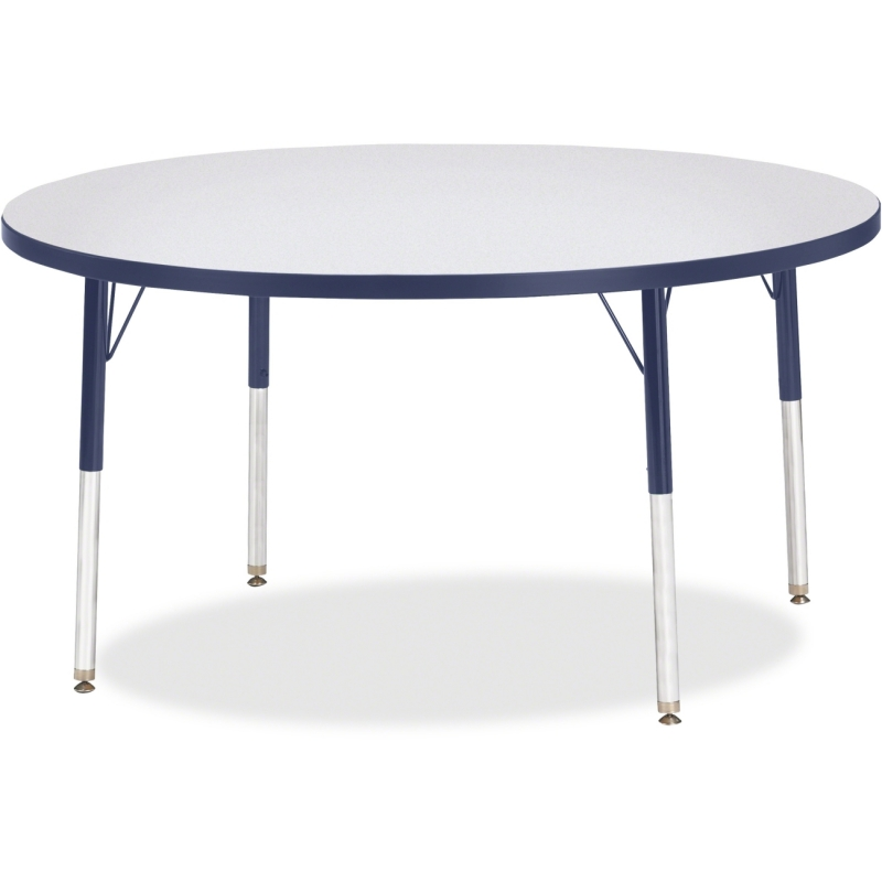Berries Adult Height Color Edge Round Table 6433JCA112 JNT6433JCA112