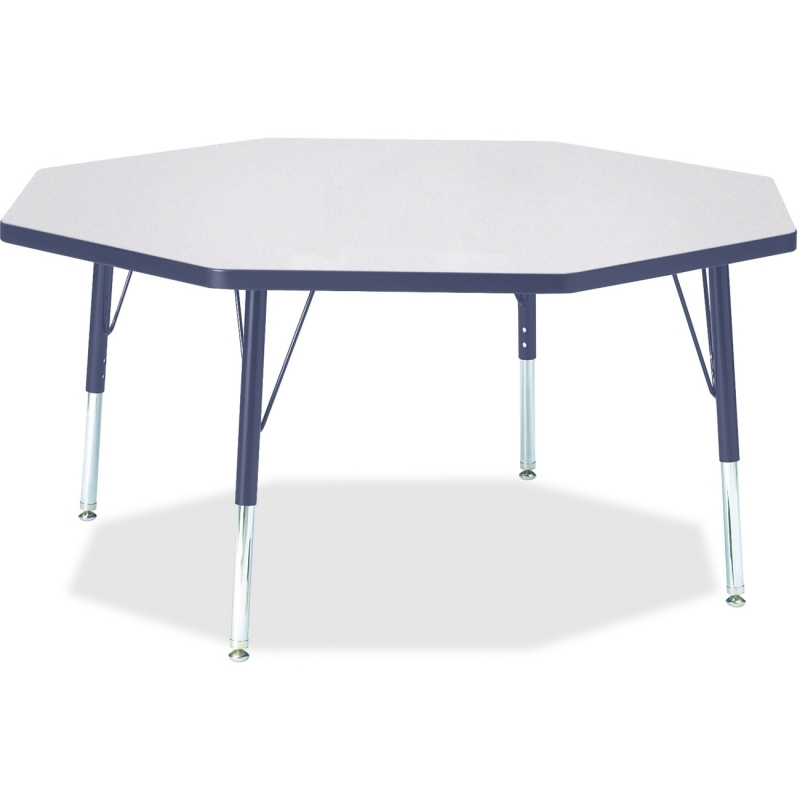Berries Toddler Height Color Edge Octagon Table 6428JCT112 JNT6428JCT112
