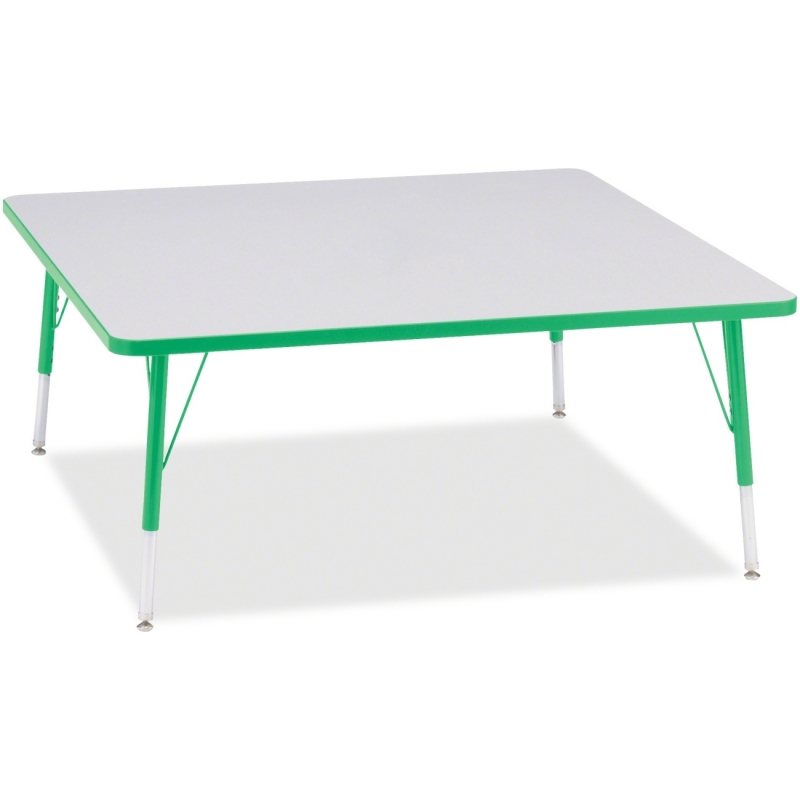 Berries Elementary Height Color Edge Square Table 6418JCE119 JNT6418JCE119