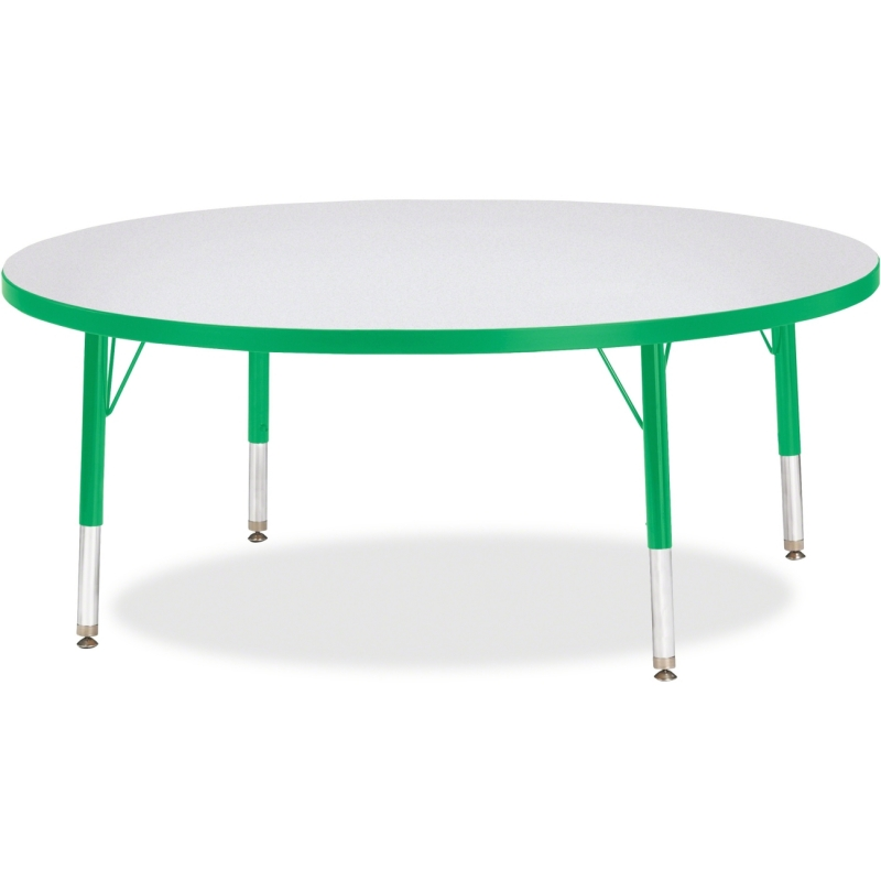 Berries Toddler Height Color Edge Round Table 6433JCT119 JNT6433JCT119