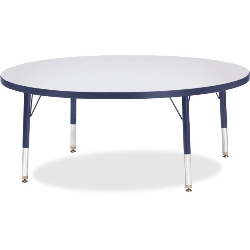 Berries Toddler Height Color Edge Round Table 6433JCT112 JNT6433JCT112