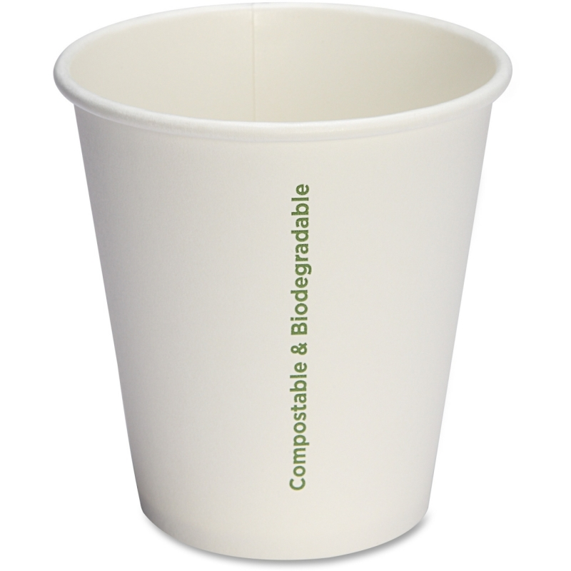 Genuine Joe Compostable Paper Cups 10214 GJO10214