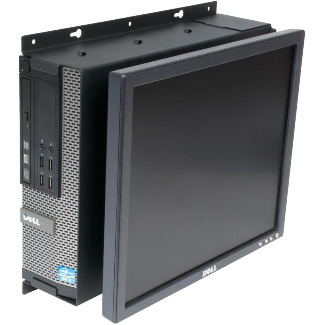 Rack Solutions Dell Optiplex 790 SFF Wall Mount - Fixed Monitor 104-2323