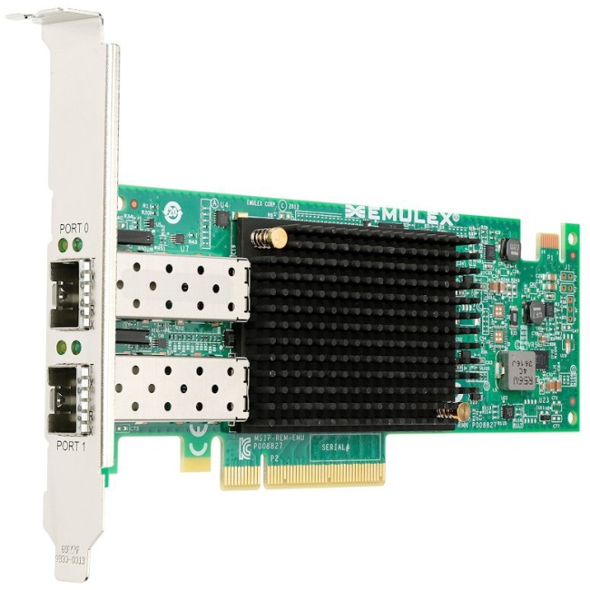 Lenovo Emulex VFA5 2x10 GbE SFP+ Adapter and FCoE/iSCSI SW for Lenovo System x 00JY830