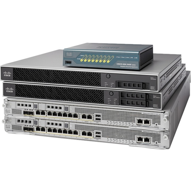 Cisco Adaptive Security Appliance - Refurbished ASA5515-K9-RF ASA 5515-X