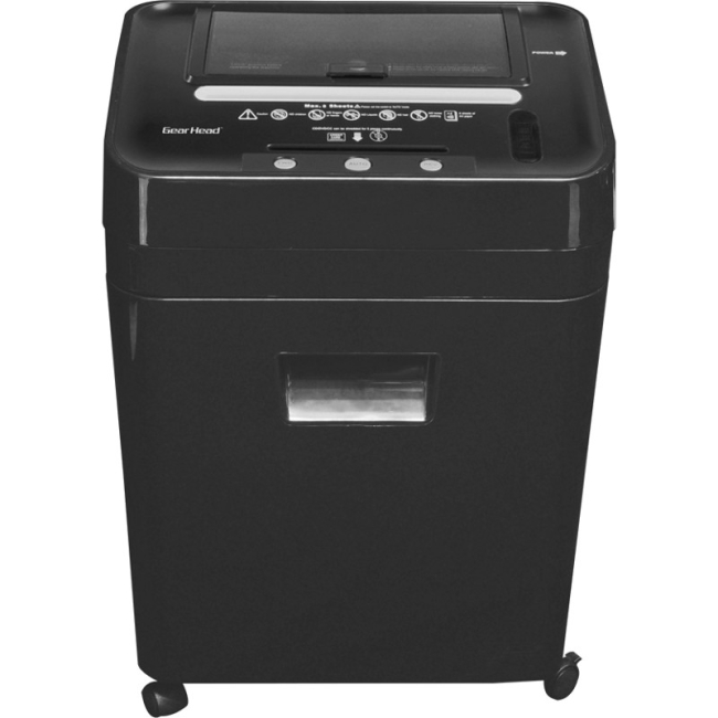Gear Head 75 Sheet Auto Feed Micro-Cut Shredder PS8500MXB