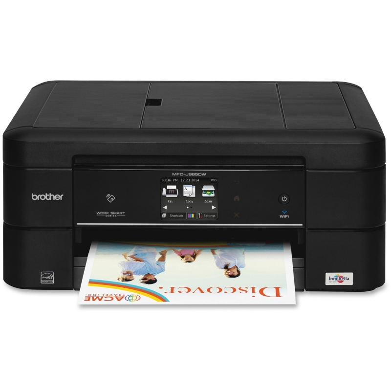 Brother Work Smart All-n-1 Inkjet Printer MFCJ885DW BRTMFCJ885DW MFC-J885DW