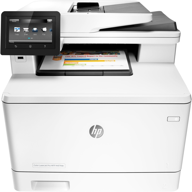 HP LaserJet Pro Laser Multifunction Printer CF378A#BGJ M477fdn