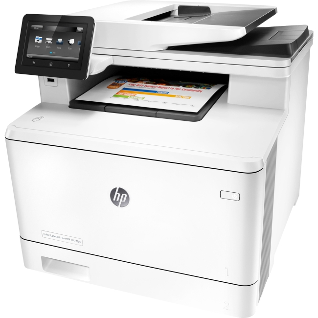 HP LaserJet Pro Laser Multifunction Printer CF379A#BGJ M477fdw