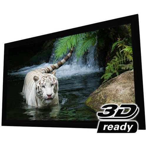 "EluneVision 115"" Reference 4K Fixed Frame Screen EV-F3S-115-1.0"