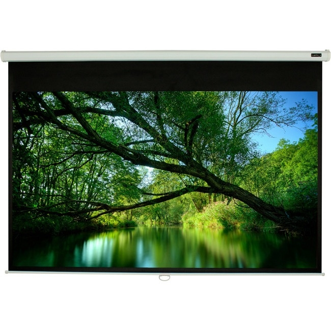 "EluneVision 84"" 1:1 Triton Manual Pull Down Screen EV-M-84*84-1.2-1:1"
