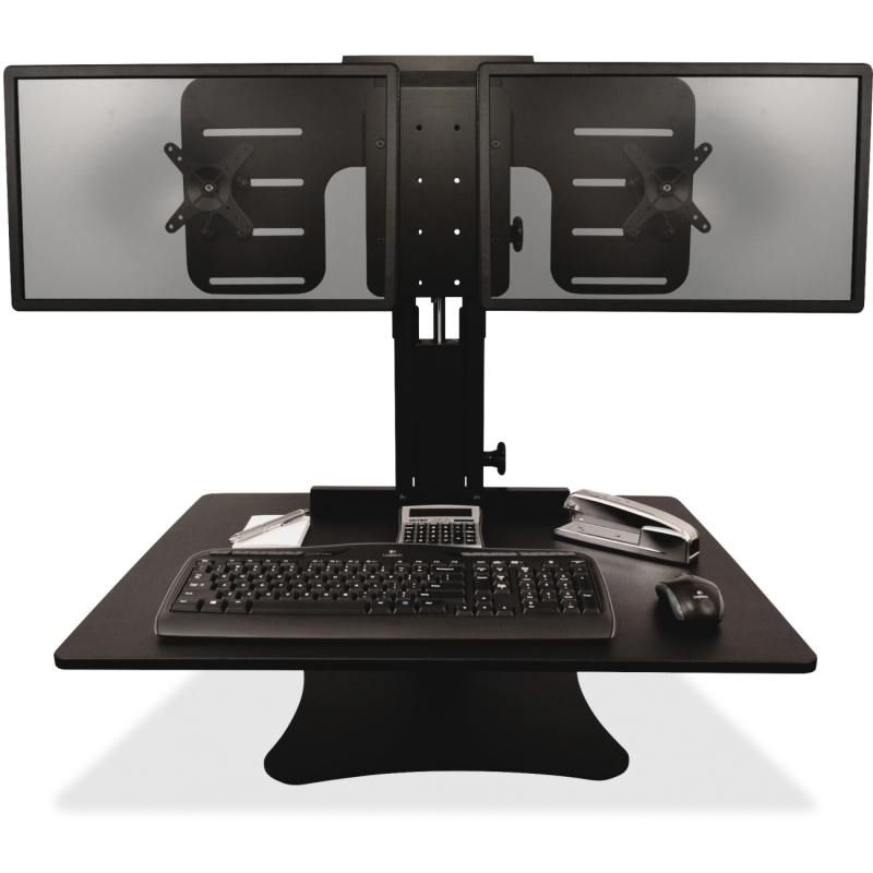 Victor Dual Monitor Sit/Stand Desk Converter DC350 VCTDC350
