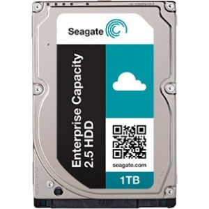 Seagate Enterprise Capacity 2.5 HDD SATA 6Gb/s 512E 1TB Hard Drive With SED ST1000NX0353