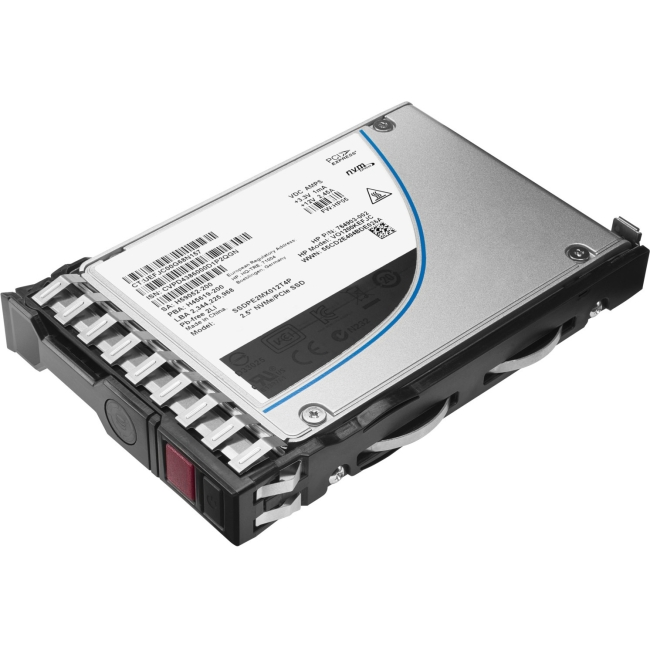 HP 1.2TB 6G SATA Write Intensive-2 SFF 2.5-in SC 3yr Wty Solid State Drive 804677-B21