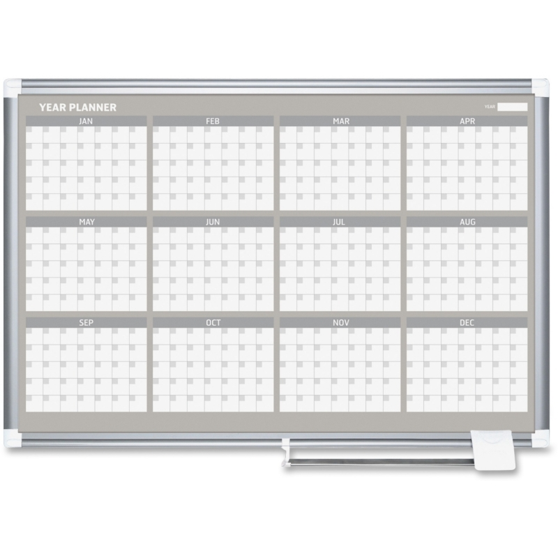 "MasterVision 36"" 12-month Calendar Planning Board GA03106830 BVCGA03106830"