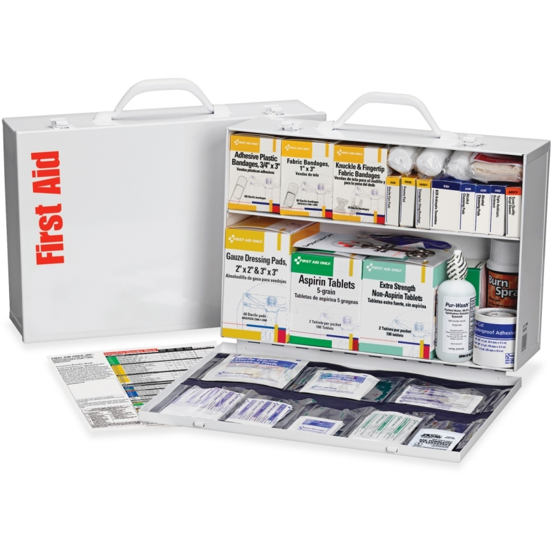 First Aid Only 2-shelf Industrial 1st Aid Station 245OP FAO245OP